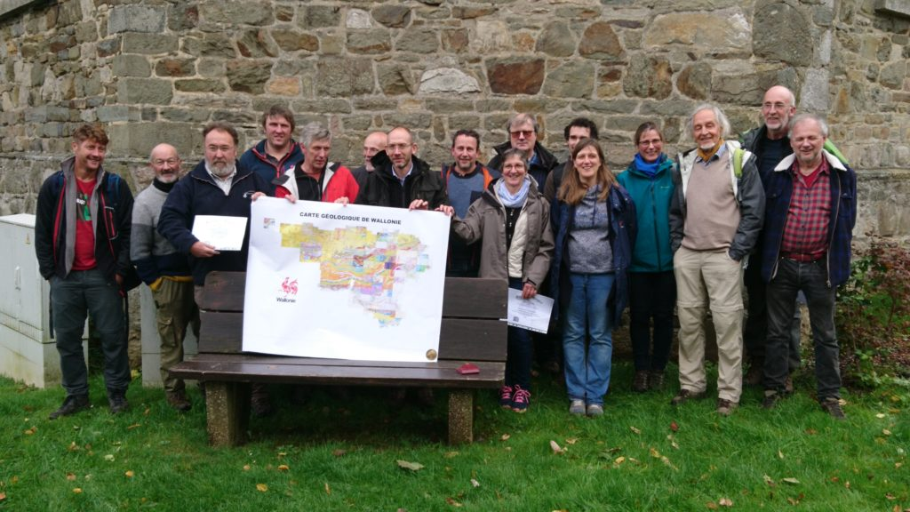 the laureates - cartographers of the Walloon Region